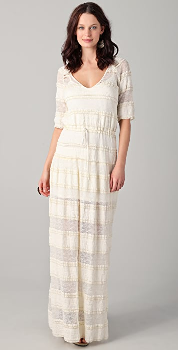 Of Two Minds Dilia Vintage Lace Maxi Dress