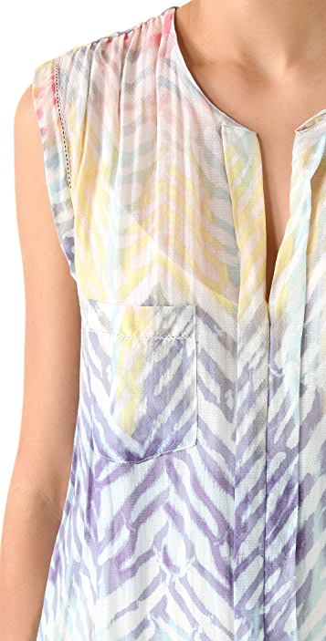 Of Two Minds Ombre Tiger Dress