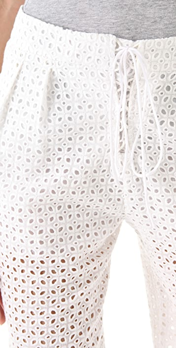 Of Two Minds Refined Eyelet Persi Shorts