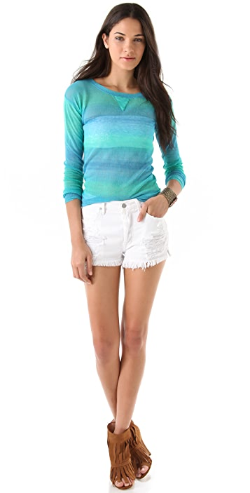 Of Two Minds Organdy Fume Thaki Sweater