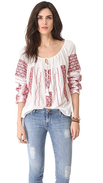 Of Two Minds Tulka Blouse