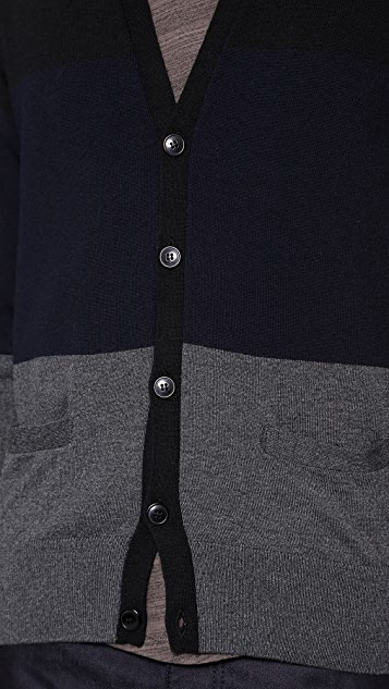 Officine Generale Block Cardigan