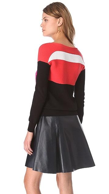 Ohne Titel Colorblock Pullover