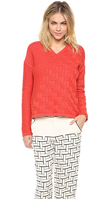 Ohne Titel Weave Knit Pullover