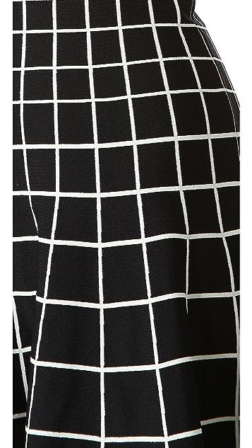 Ohne Titel Grid Knit Dress