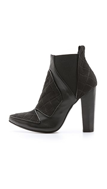 Ohne Titel Quilted High Booties