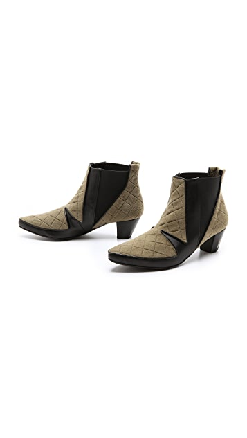 Ohne Titel Quilted Low Booties
