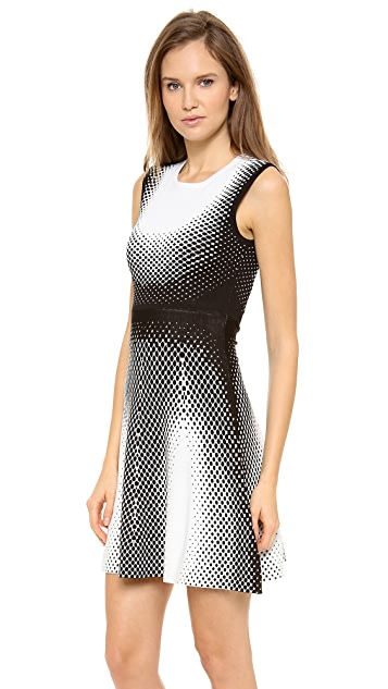 Ohne Titel Point Jacquard Sleeveless Dress