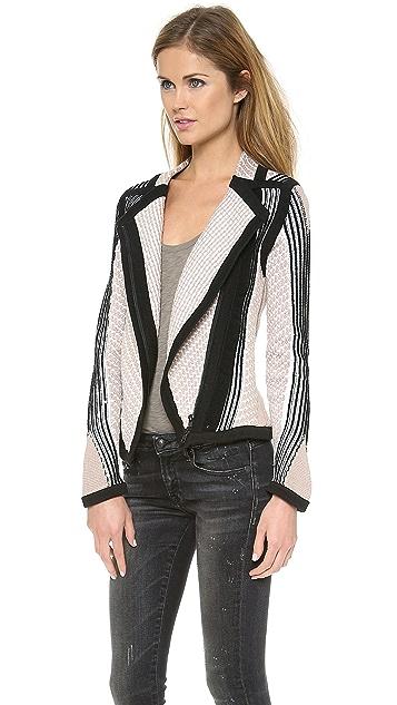 Ohne Titel Reverse Stripe Jacket