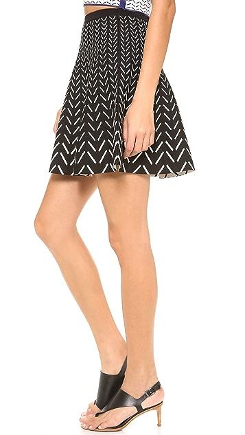 Ohne Titel Chevron Skirt