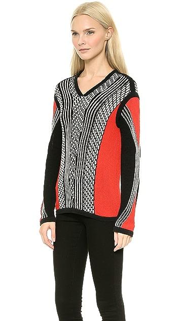 Ohne Titel Ottoman Roll Pullover