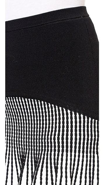 Ohne Titel Knit Stripe Skirt