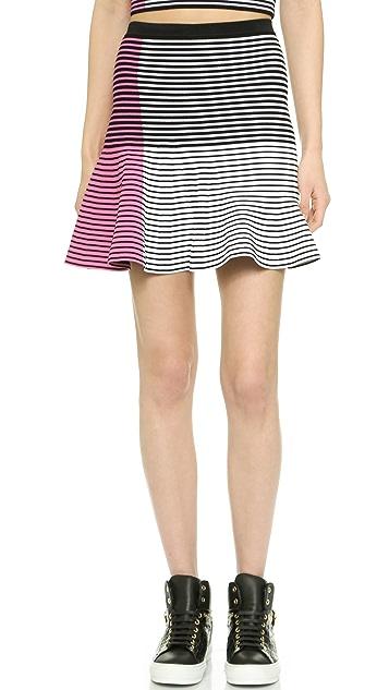 Ohne Titel Asymmetrical Flare Skirt