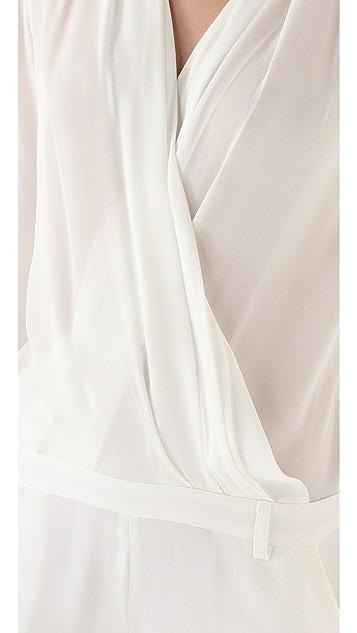 Olcay Gulsen Silk Georgette Jumpsuit