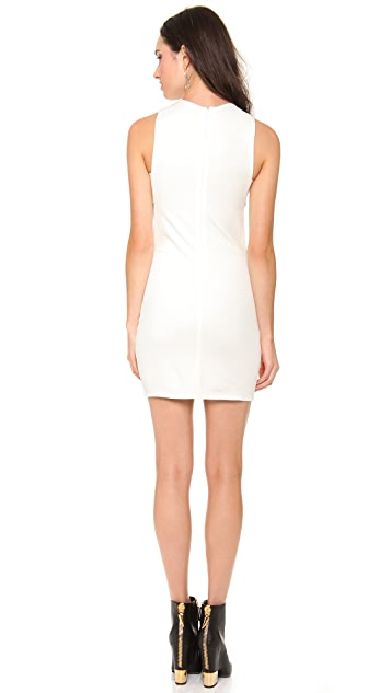 Olcay Gulsen Sleeveless Open Side Dress