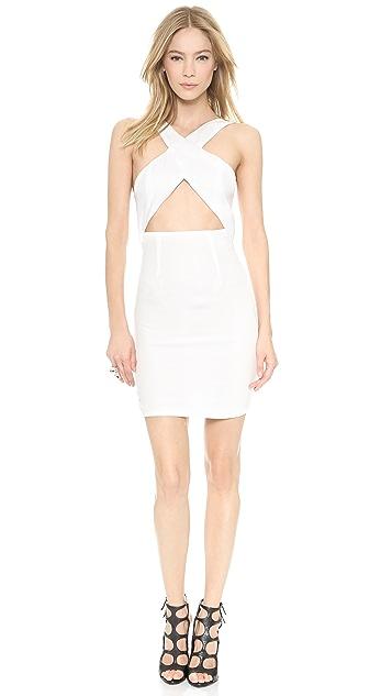 Olcay Gulsen Crossed Open Bare Dress