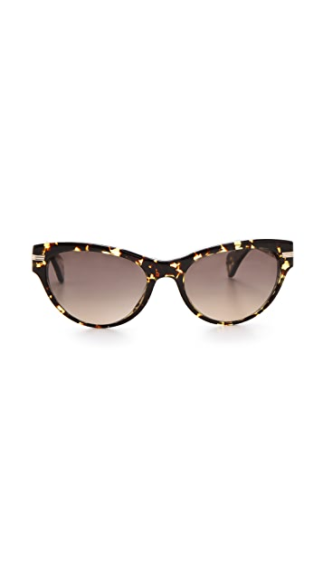 Oliver Peoples Eyewear Kosslyn Polarized Sunglasses