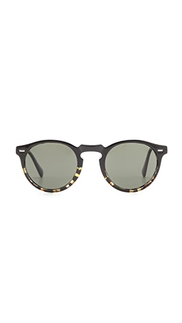 Oliver Peoples Eyewear Gregory Peck Polarized Sunglasses
