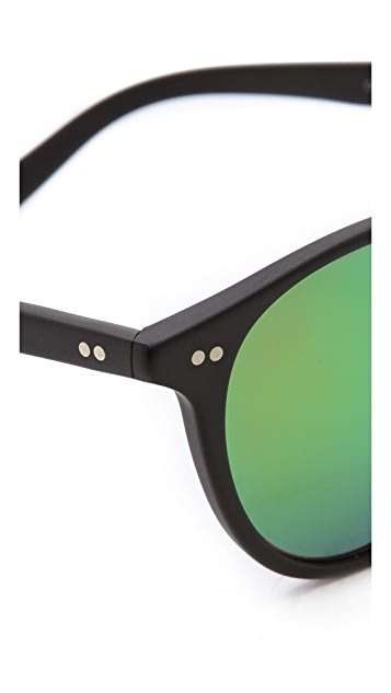 Oliver Peoples Eyewear Elins Mirrored Sunglasses