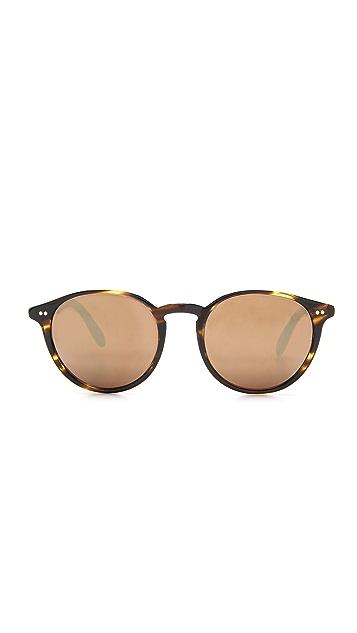 Oliver Peoples Eyewear Elins Mirrored Sunglasses
