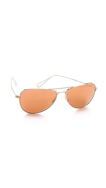 Oliver Peoples Eyewear Isabel Marant Par Oliver Peoples Matt Sunglasses