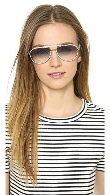 Oliver Peoples Eyewear Charter Gradient Sunglasses