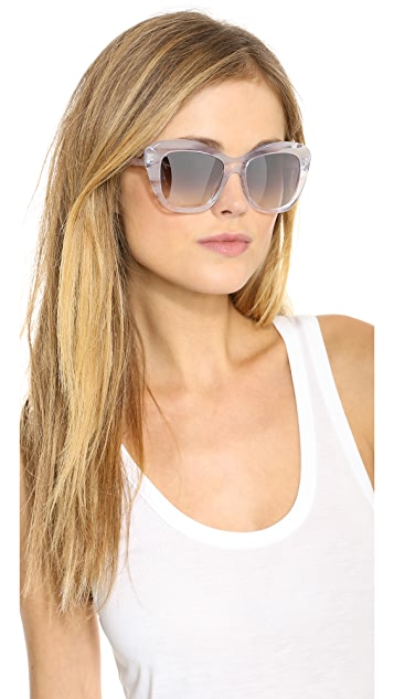 Oliver Peoples Eyewear Emmy Mirror Sunglasses