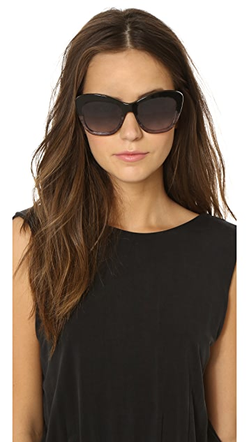 Oliver Peoples Eyewear Emmy Polar Sunglasses