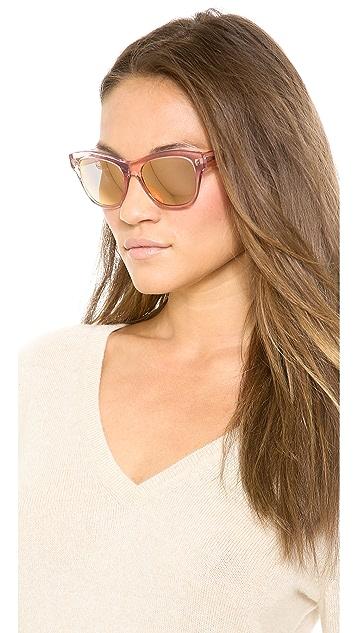Oliver Peoples Eyewear Sofee MIrrored Sunglasses