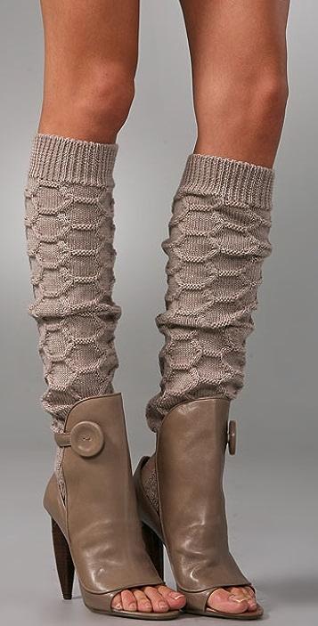 Omelle Estella Apron Pumps with Sock