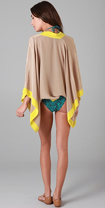 OndadeMar Solids Cocoon Cover Up