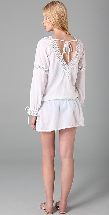 OndadeMar Eyelet Cover Up Dress