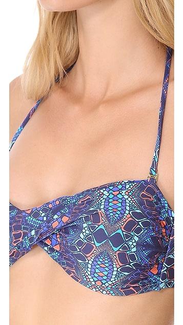 OndadeMar Nangala Bandeau Bikini Top