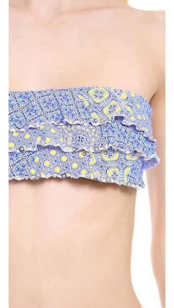 OndadeMar Etheral Bandeau Bikini Top
