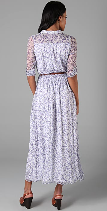 ONE by Line & Dot Printed Long Dress