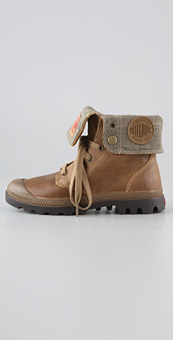 ONE by Palladium Baggy Leather Boots