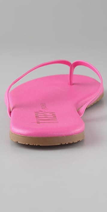 ONE by TKEES Polishes Flat Thong Sandals