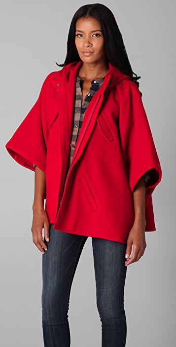ONE by Steven Alan Outdoor Poncho