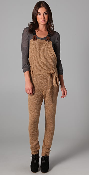 ONE by American Retro Knit Overalls