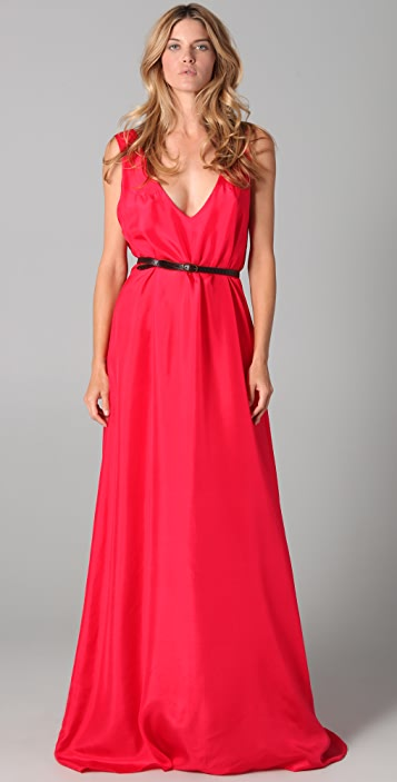 Dept Maxi Jurk.One By Costume Dept V Neck Maxi Dress Shopbop