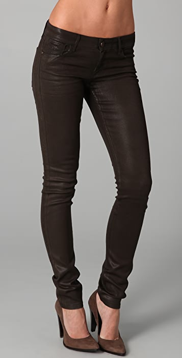 ONE by Habitual Coated Skinny Jeans