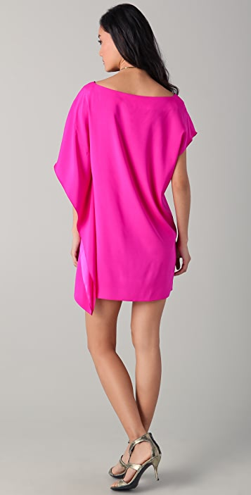 ONE by Ramy Brook Marcie Side Drape Dress