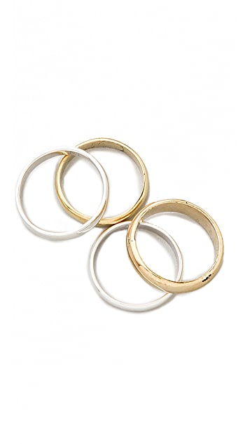 ONE by SunaharA Malibu Suna Ring Set