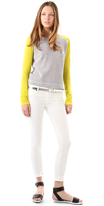 ONE by Vkoo Cotton Baseball Tee