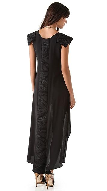 ONE by Viva Aviva Rayka Silk Mullet Dress