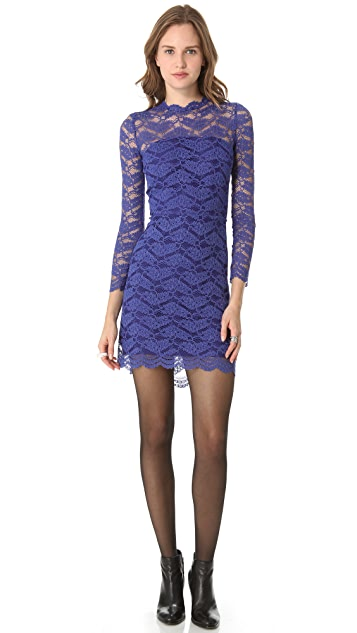 ONE by Alexis Open Back Lace Dress