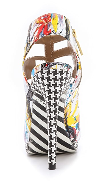 ONE by Alejandra G Tyrese Jawbreaker Sandals