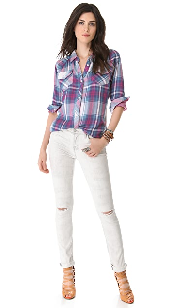 ONE by RAILS Kendra Button Down Top