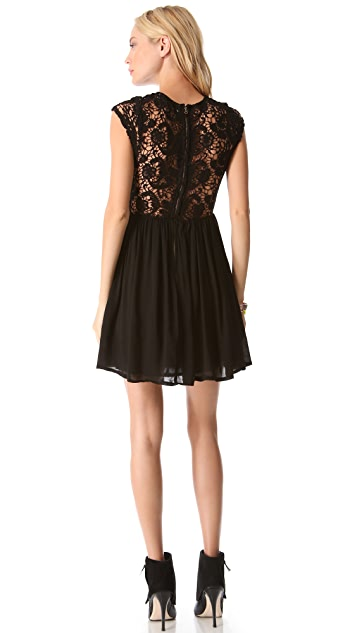 ONE by Lovecat Lace Party Dress