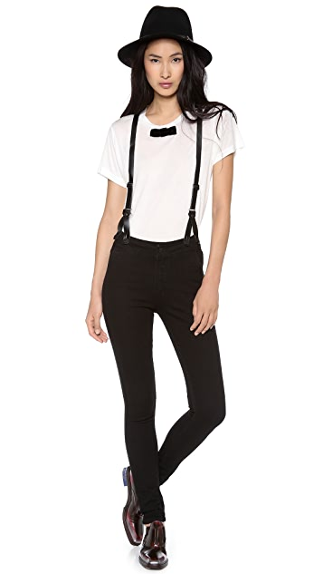 ONE by Courtshop James Suspender Jeans with High Waist